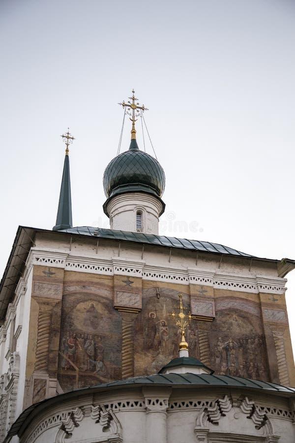 Domkyrka av christ frälsaren i Irkutsk, ryssfederation royaltyfria foton