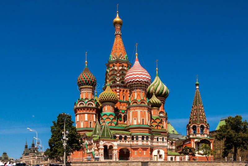 Domkyrka av den heliga oskulden i Moscow arkivfoton