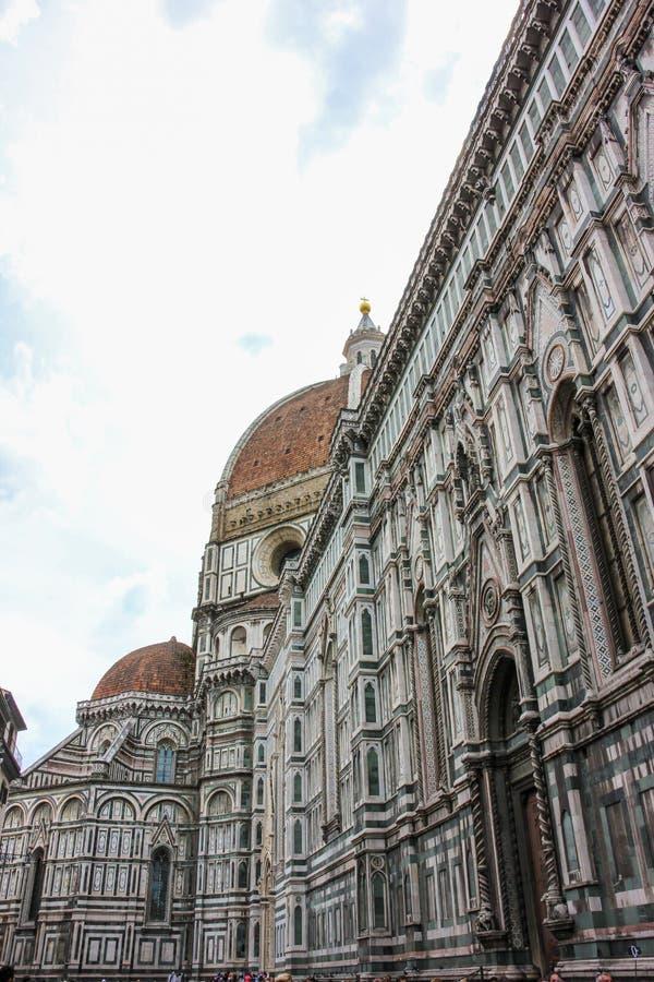 Domkyrka av Florence i Italien royaltyfri foto