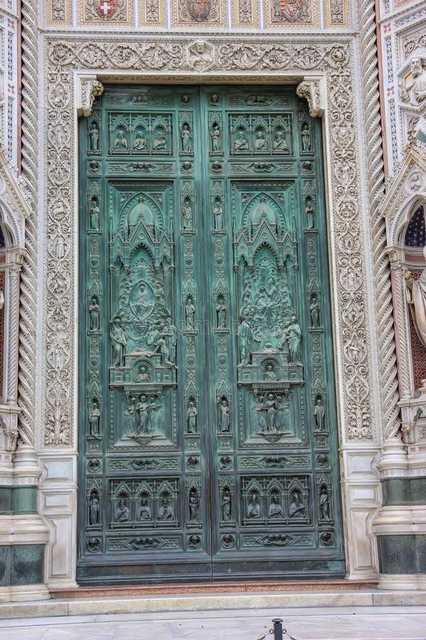 Domkyrka av Florence i Italien royaltyfri bild