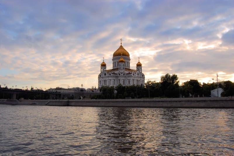 Domkyrka av Kristus frälsaren, Ryssland royaltyfri fotografi