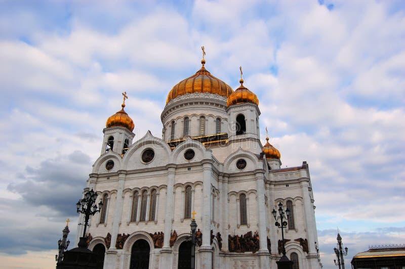Domkyrka av Kristus frälsaren, Ryssland arkivfoton