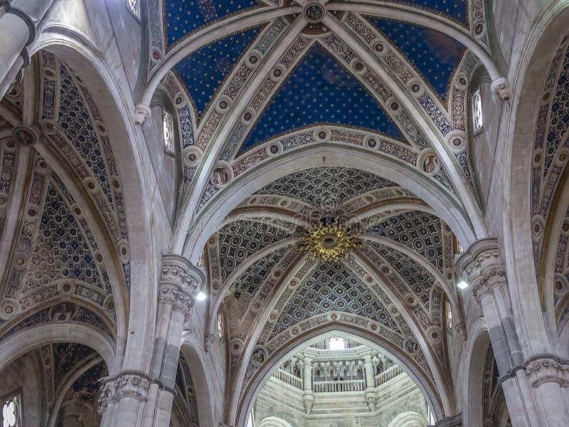 Domkyrka av Pavia, Italien royaltyfri foto