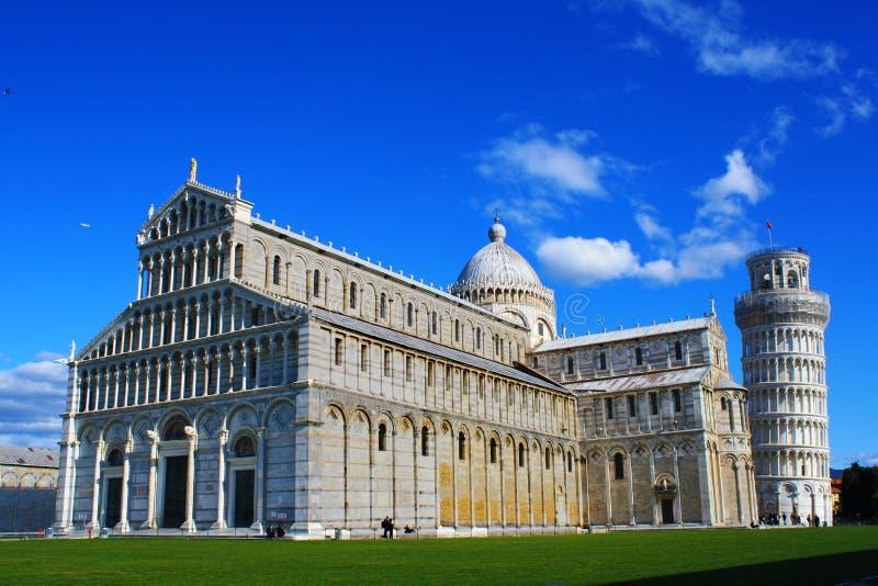 Domkyrka av Pisa royaltyfri fotografi