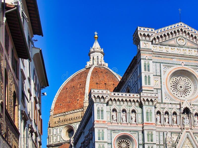 Domkyrka av Santa Maria del Fiore, Florence, Tuscany, Italien arkivbild