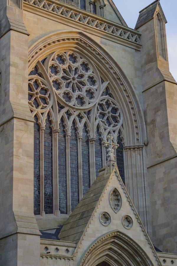 Domkyrka av St Albans arkivfoto
