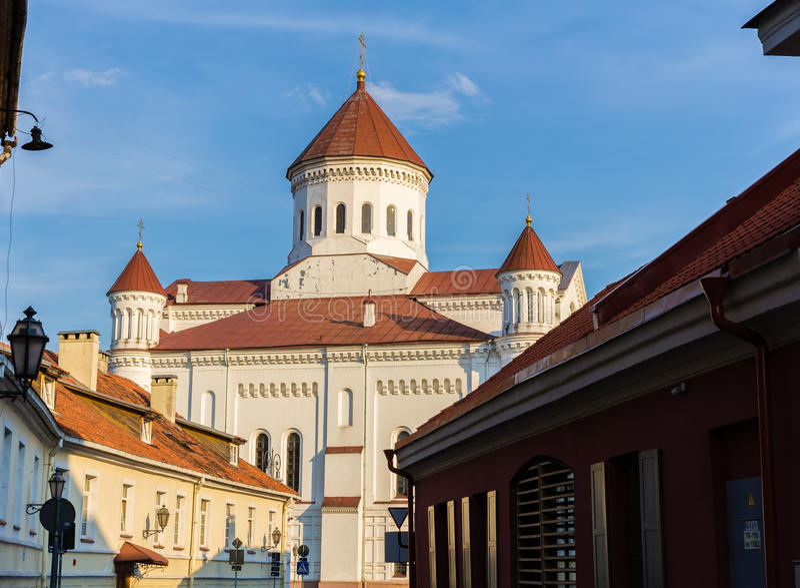 Domkyrka av Theotokosen i Vilnius royaltyfria bilder