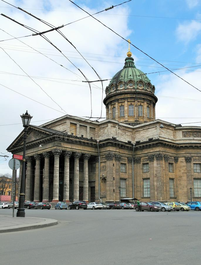 Domkyrka för ` s för St Isaac i St Petersburg, Ryssland arkivfoto