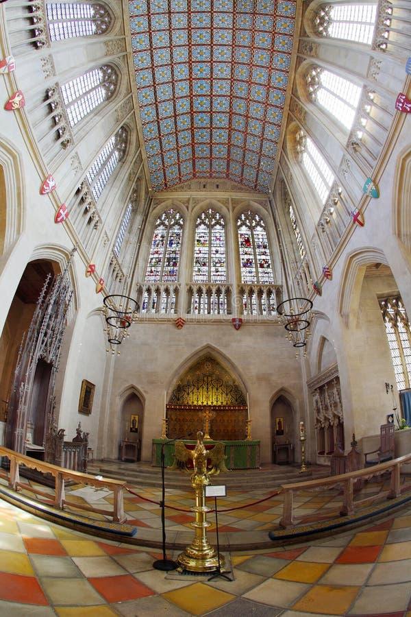 Domkyrka för St Edmundsbury royaltyfria foton