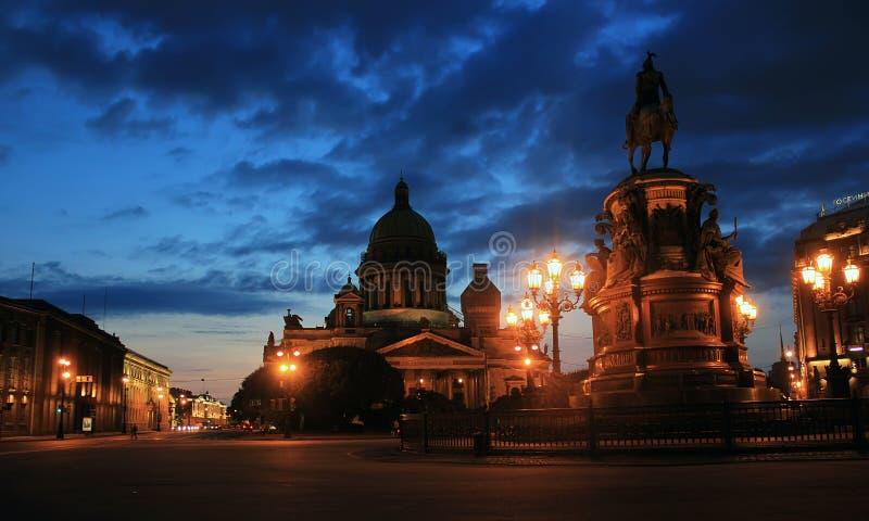 Domkyrka för St Isaacs, St Petersburg, Ryssland royaltyfri fotografi