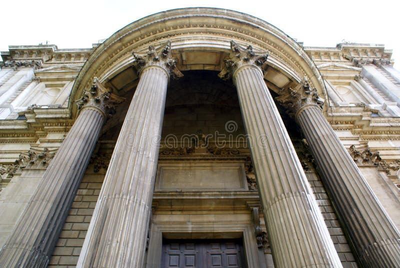 Domkyrka för St Paul's i London, England royaltyfria bilder