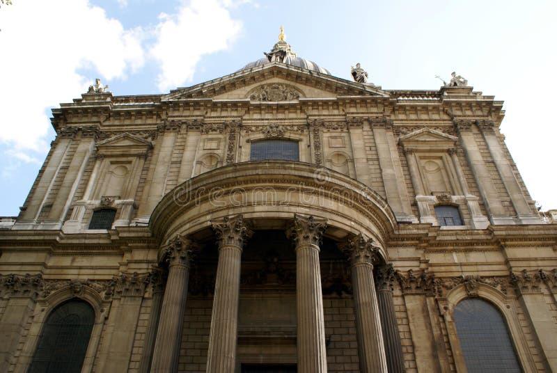 Domkyrka för St Paul's i London, England arkivfoto