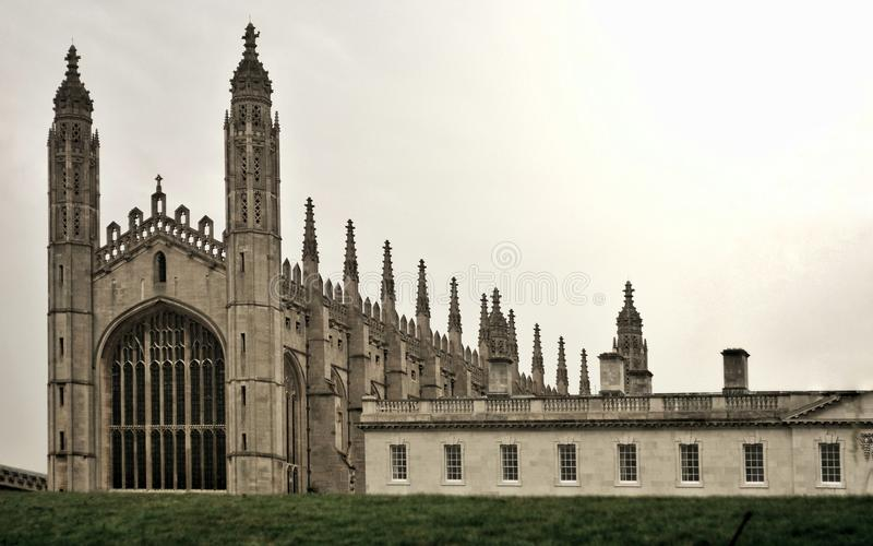 Domkyrka i Cambridge arkivbild