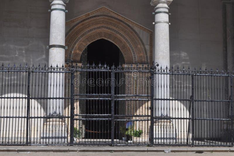Domkyrka i Monreale fotografering för bildbyråer
