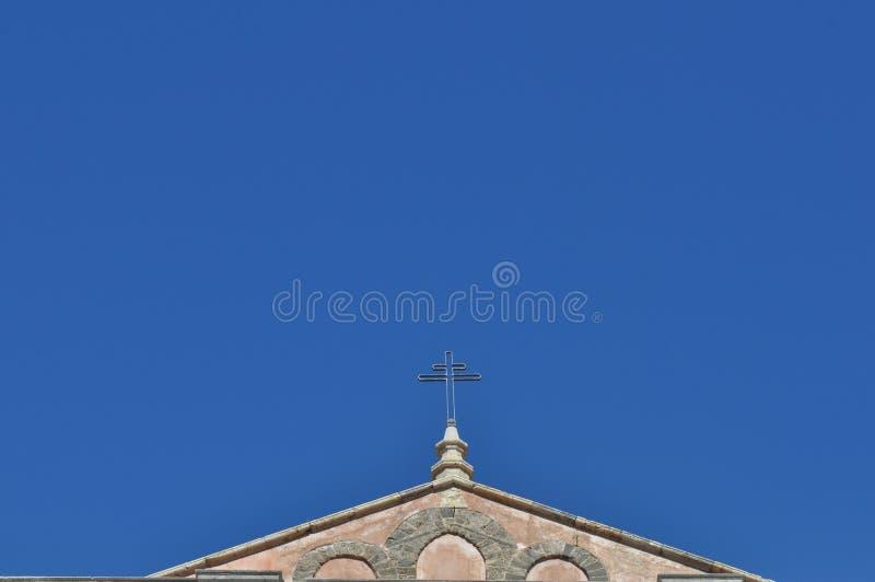 Domkyrka i Monreale arkivfoton