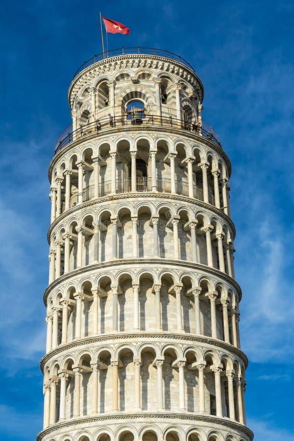 Domkyrka Pisa Italien för Campanile för benägenhettorn arkivfoton
