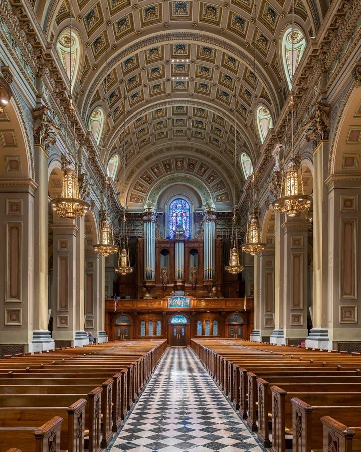 Domkyrkabasilika av helgon Peter & Paul arkivbilder