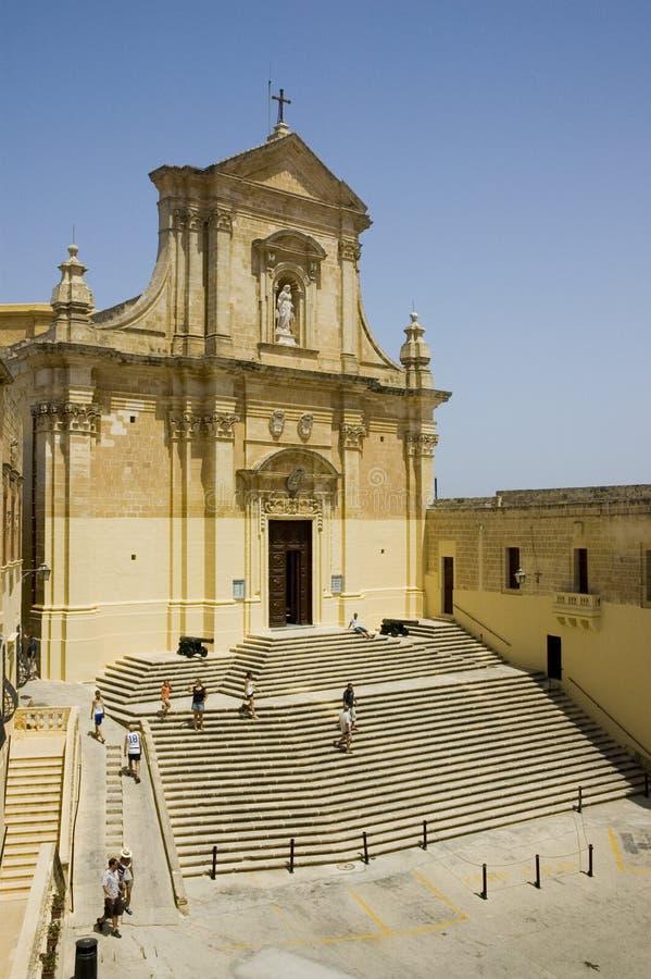 Download Domkyrkacitadel arkivfoto. Bild av malta, katolicism, väder - 982468