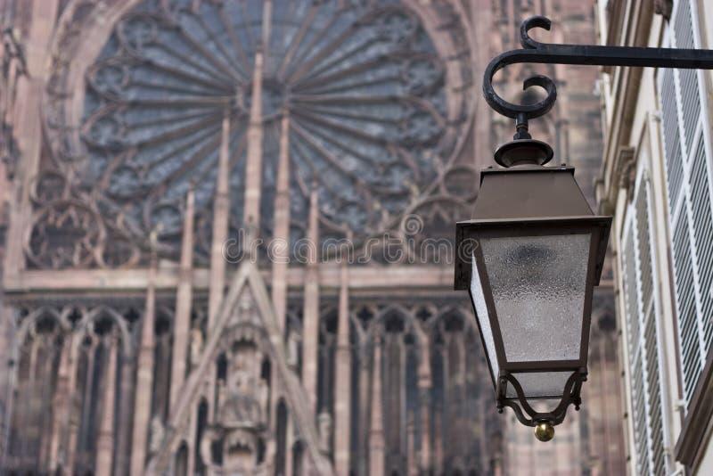 domkyrkalampa arkivfoton