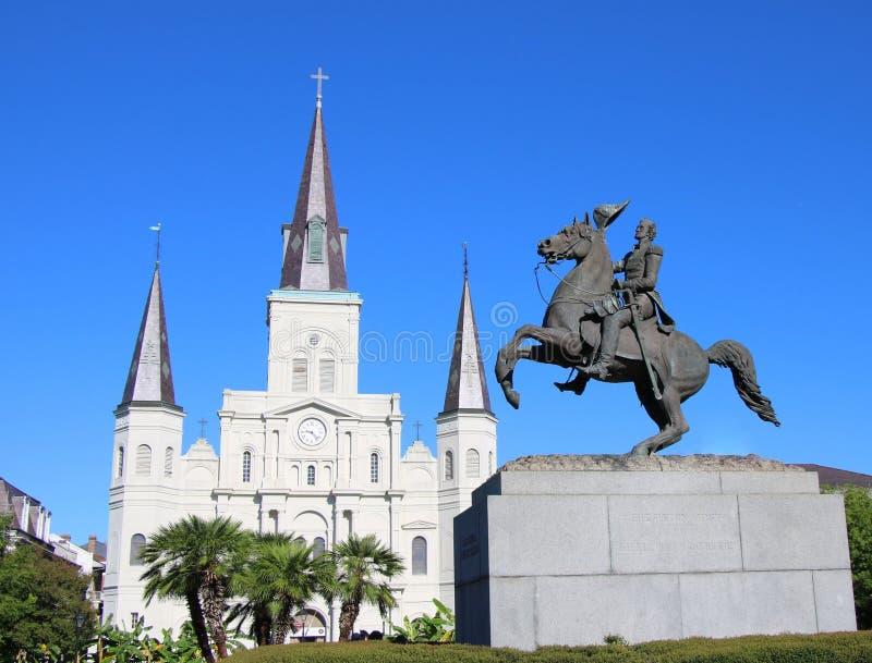 domkyrkalouis louisiana New Orleans saint royaltyfria bilder