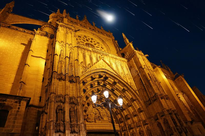 domkyrkamaria natt santa arkivfoto