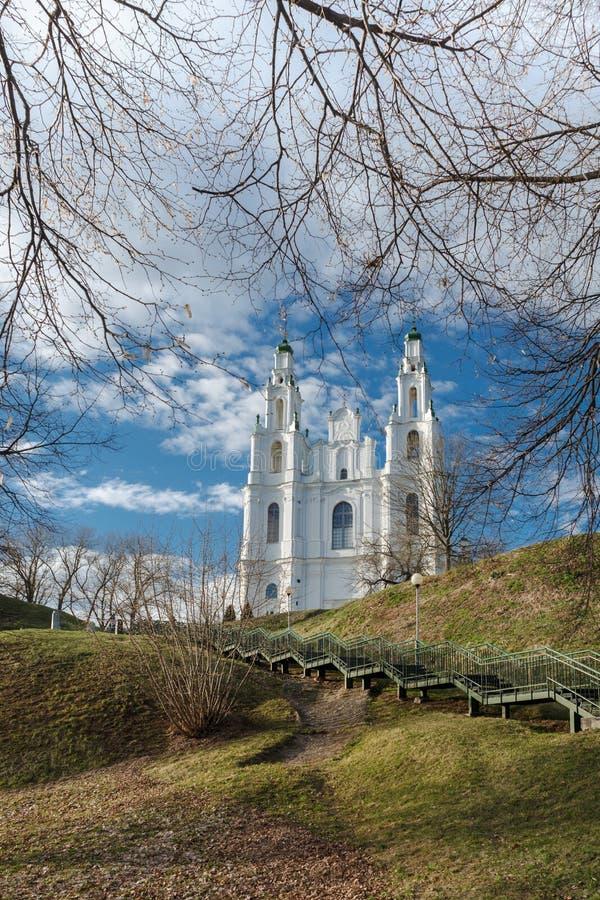 Domkyrkan av helig vishet arkivbilder
