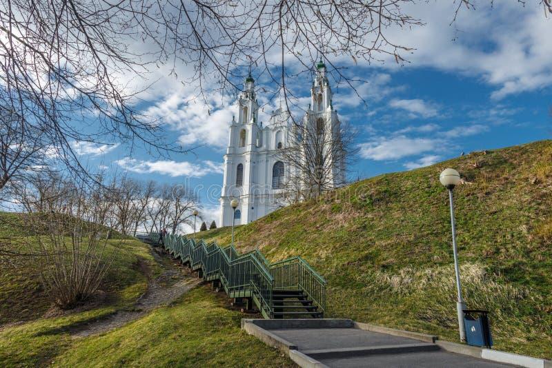 Domkyrkan av helig vishet fotografering för bildbyråer