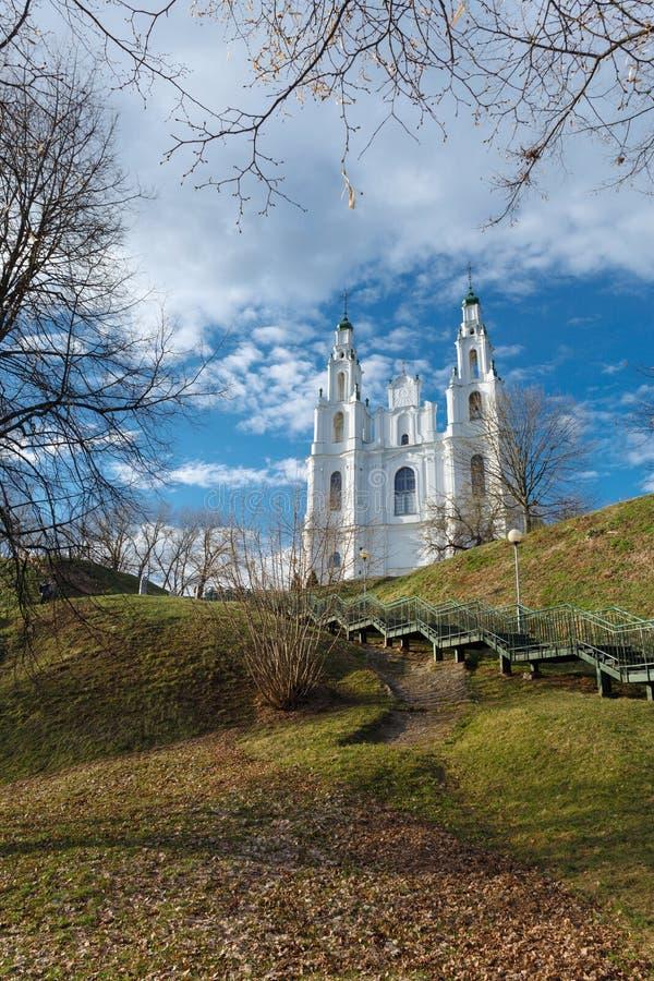 Domkyrkan av helig vishet royaltyfri foto
