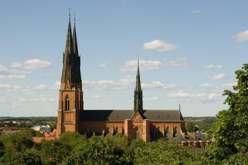 Domkyrkan Upsal photo libre de droits