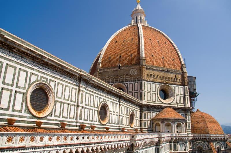 Domo, catedral de Florença imagem de stock
