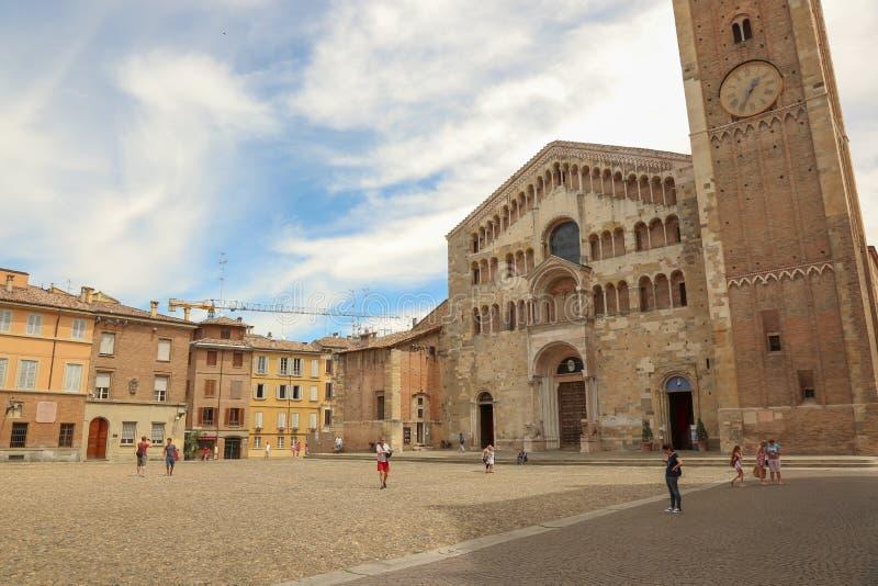 Domo de Parma fotografia de stock