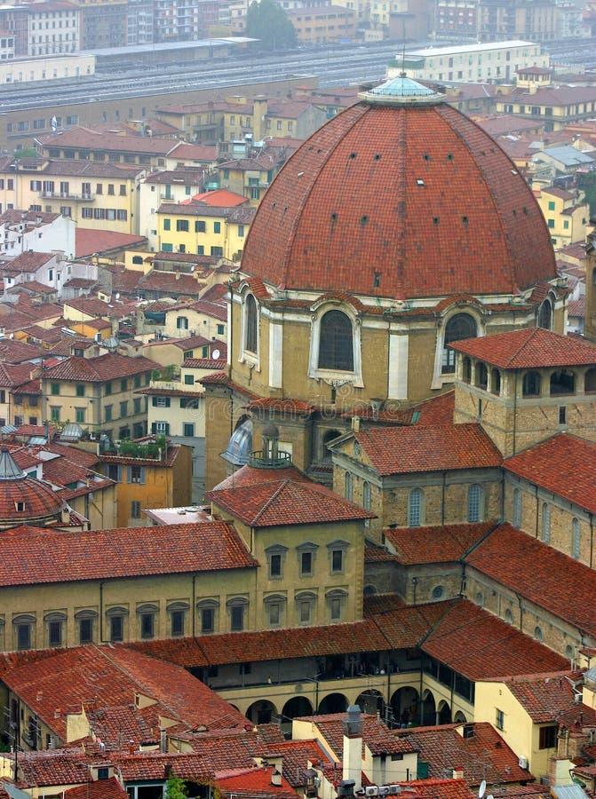 Domo em Italy imagens de stock
