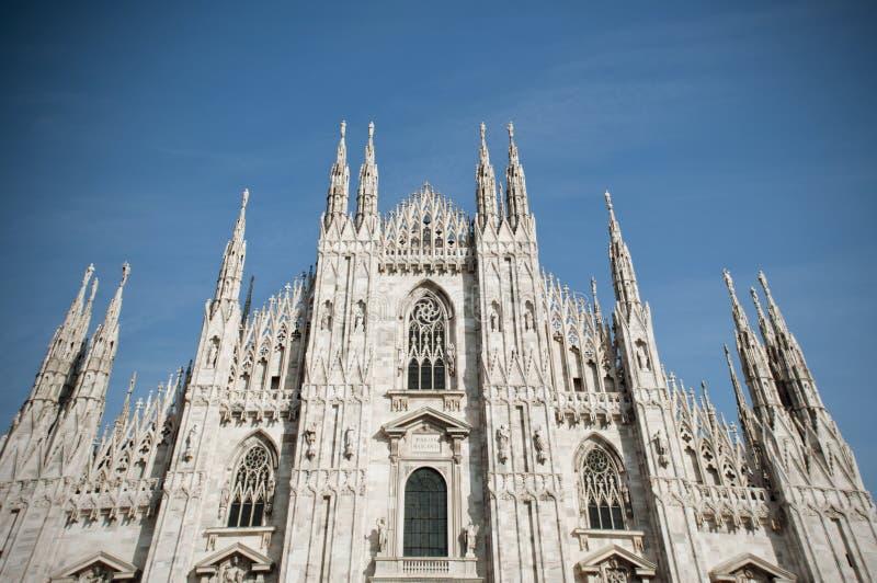 Domo em Milão imagem de stock
