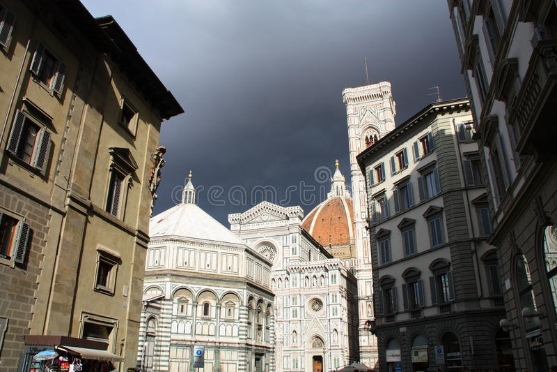 Domo, Florença foto de stock