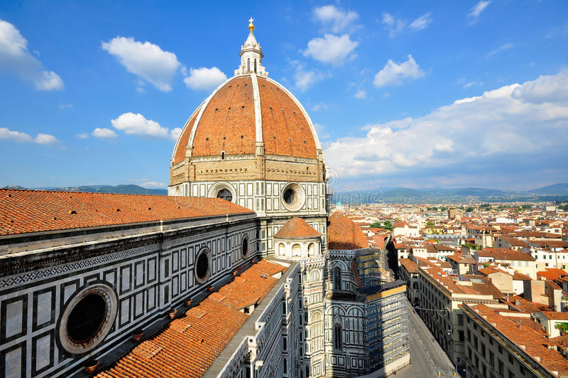 Domo, Florença, Italy foto de stock