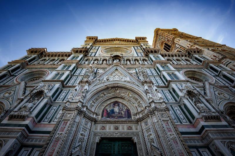 Domo Santa Maria Del Fiore e Bargello, Florença, Itália foto de stock
