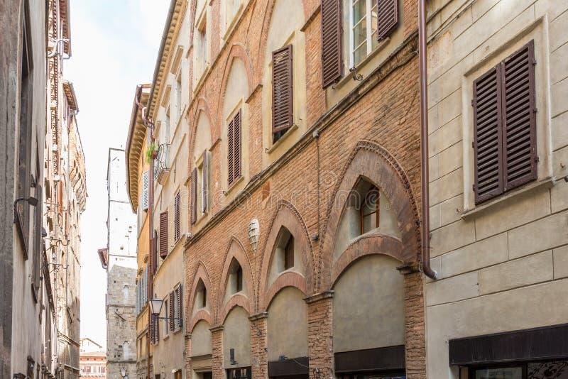 Domowa biel fasada zdjęcia royalty free