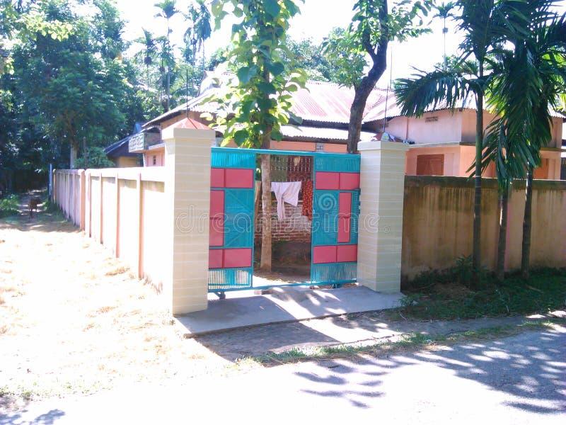 Domowa brama, Domowa brama, budynki obraz stock