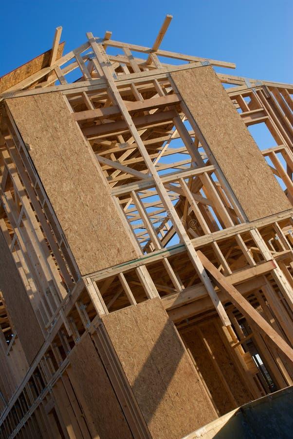 domowa budowy opowieść dwa zdjęcia stock