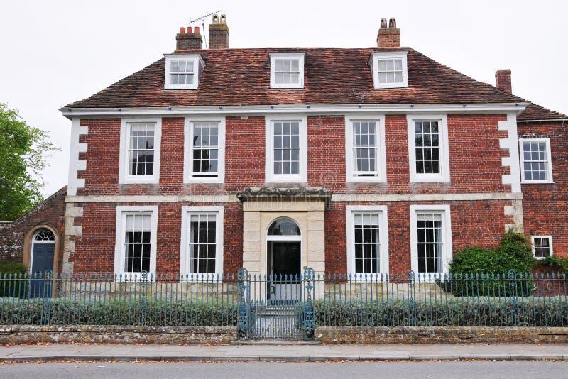domowa cegły czerwień zdjęcie royalty free