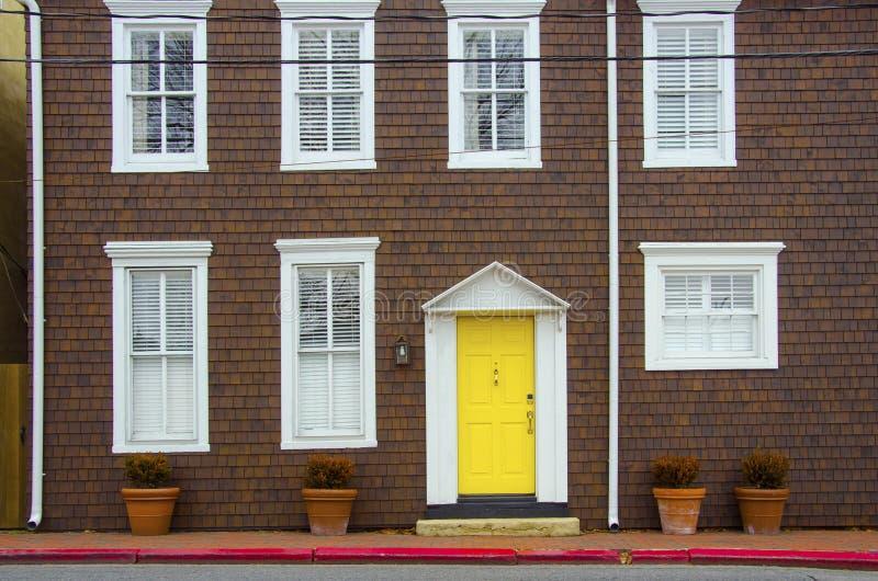 Domowa fasada w Annapolis obraz royalty free