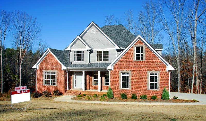 domowa foreclosure sprzedaż fotografia stock