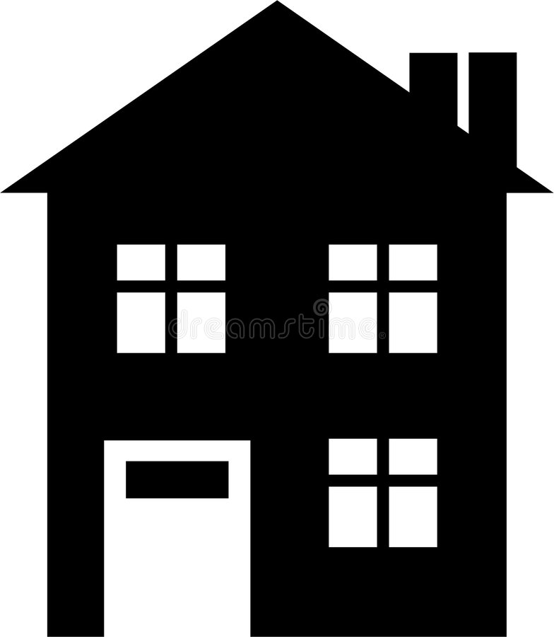 domowa ikona ilustracji