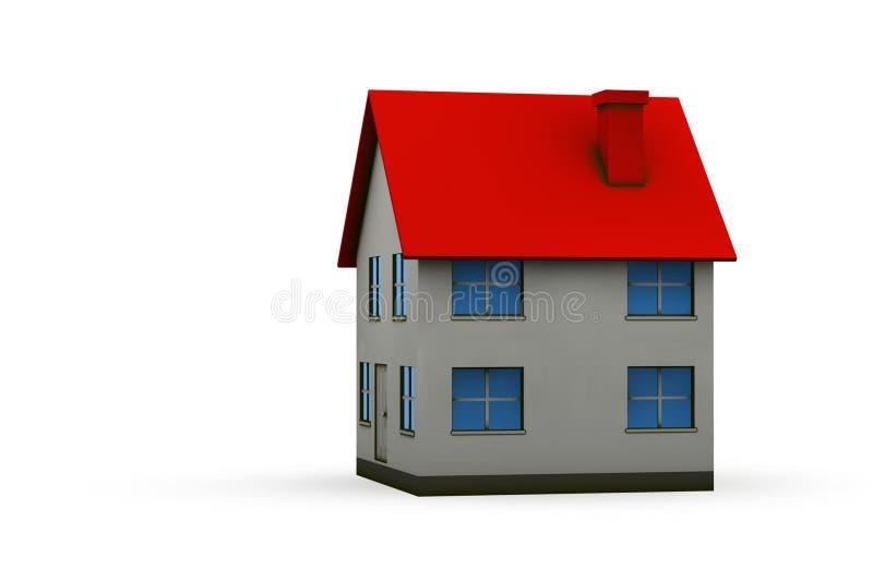 Domowa ilustracja ilustracja wektor