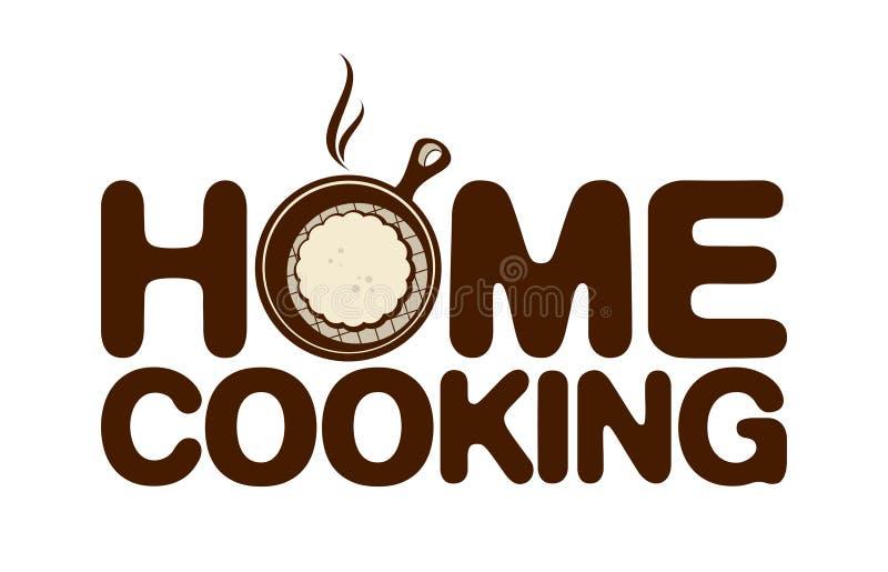 Domowa kulinarna ikona. royalty ilustracja