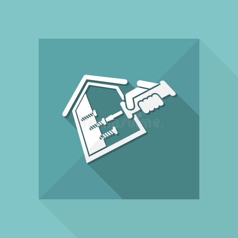 Domowa naprawa ilustracja wektor