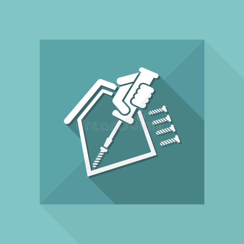 Domowa naprawa ilustracji