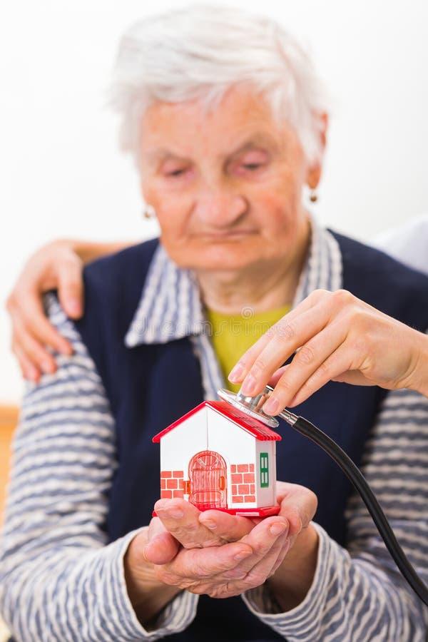 Domowa opieka obraz stock
