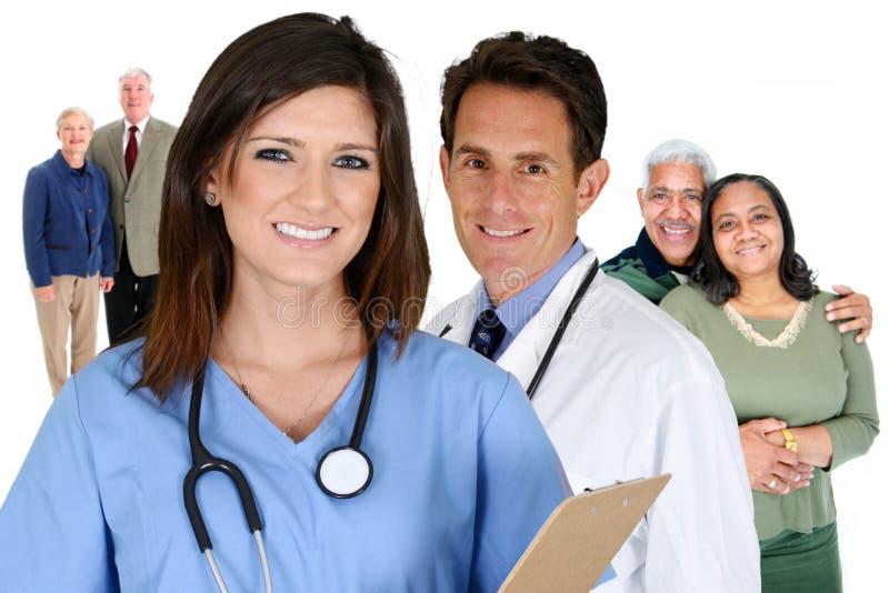 Domowa opieka zdrowotna obrazy stock