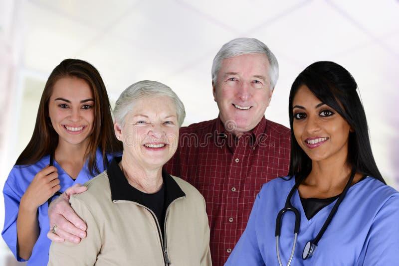 Domowa opieka zdrowotna zdjęcia stock